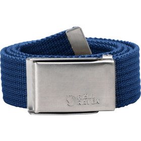 Fjällräven Merano Canvas Belt, deep blue